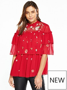 v-by-very-embroidered-ruffle-blouse