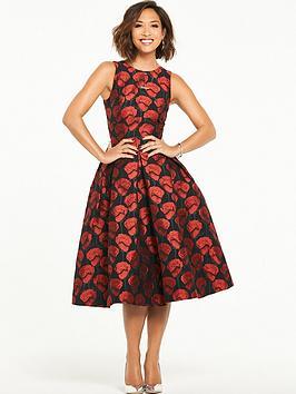 Myleene Klass Jacquard Prom Dress  ce72a02b3