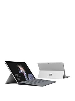 Image of Microsoft Microsoft Surface Pro Intel Core I5 8Gb Ram 256Gb Ssd 12.3In Tablet With Type Cover Platinum - Surface With Microsoft Office 365 Home