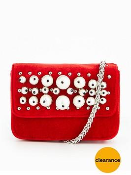 v-by-very-micro-mini-velvet-pearl-embellished-crossbody