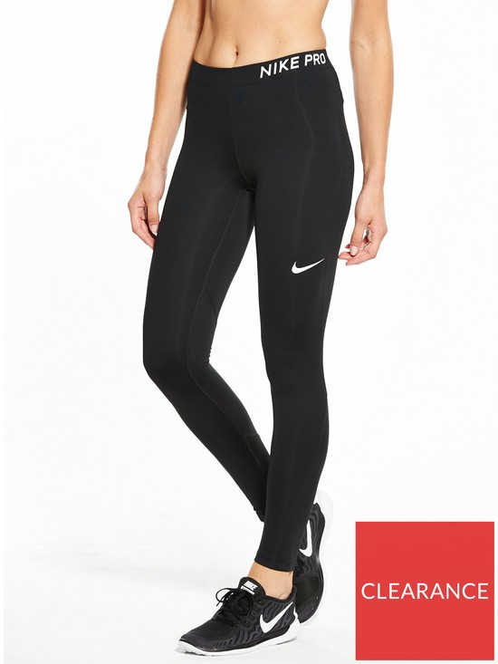 newest 2b386 0d5f5 Nike Training Pro Legging - Black   very.co.uk
