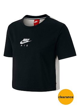 nike-sportswear-air-top-blackcreamnbsp