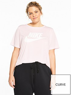 nike-sportswear-essential-t-shirt-plus-size-pinknbsp