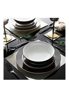 ideal-home-ritz-black-and-gold-dinner-set