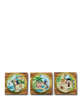 arthouse-pirates-ahoy-canvases-set-of-3