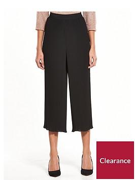 warehouse-plisse-culotte-trousers