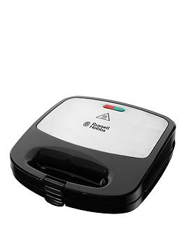 Russell Hobbs 3-in-1 24540 Sandwich Toaster - Black / Stainless Steel
