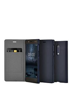 nokia-nokia-slim-flip-case-cp-302-for-nokia-5-blue