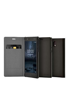 nokia-nokia-slim-flip-case-cp-303-for-nokia-3-black