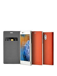 nokia-nokia-slim-flip-case-cp-303-for-nokia-3-brown-copper