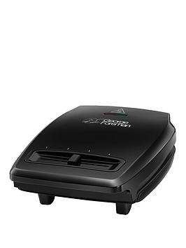 George Foreman 23411 Compact Vari-Temp Grill With Free Extended Guarantee*