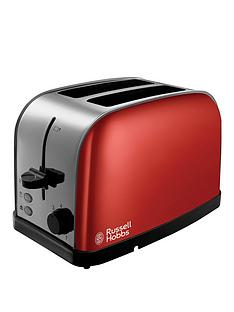 russell-hobbs-18781-dorchesternbsp2-slice-toaster-red