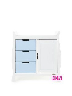 obaby-stamford-changing-unit-white-amp-bon-bon-blue
