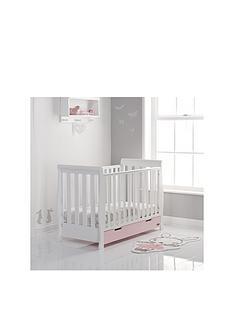 obaby-free-mattress-stamford-mini-cot-bed-white-amp-eton-messnbspamp-free-sprung-mattress