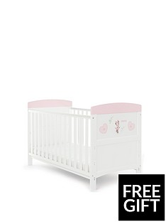 minnie-mouse-cot-bed-hearts