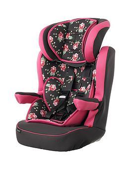 obaby-grey-rose-group-123-car-seat