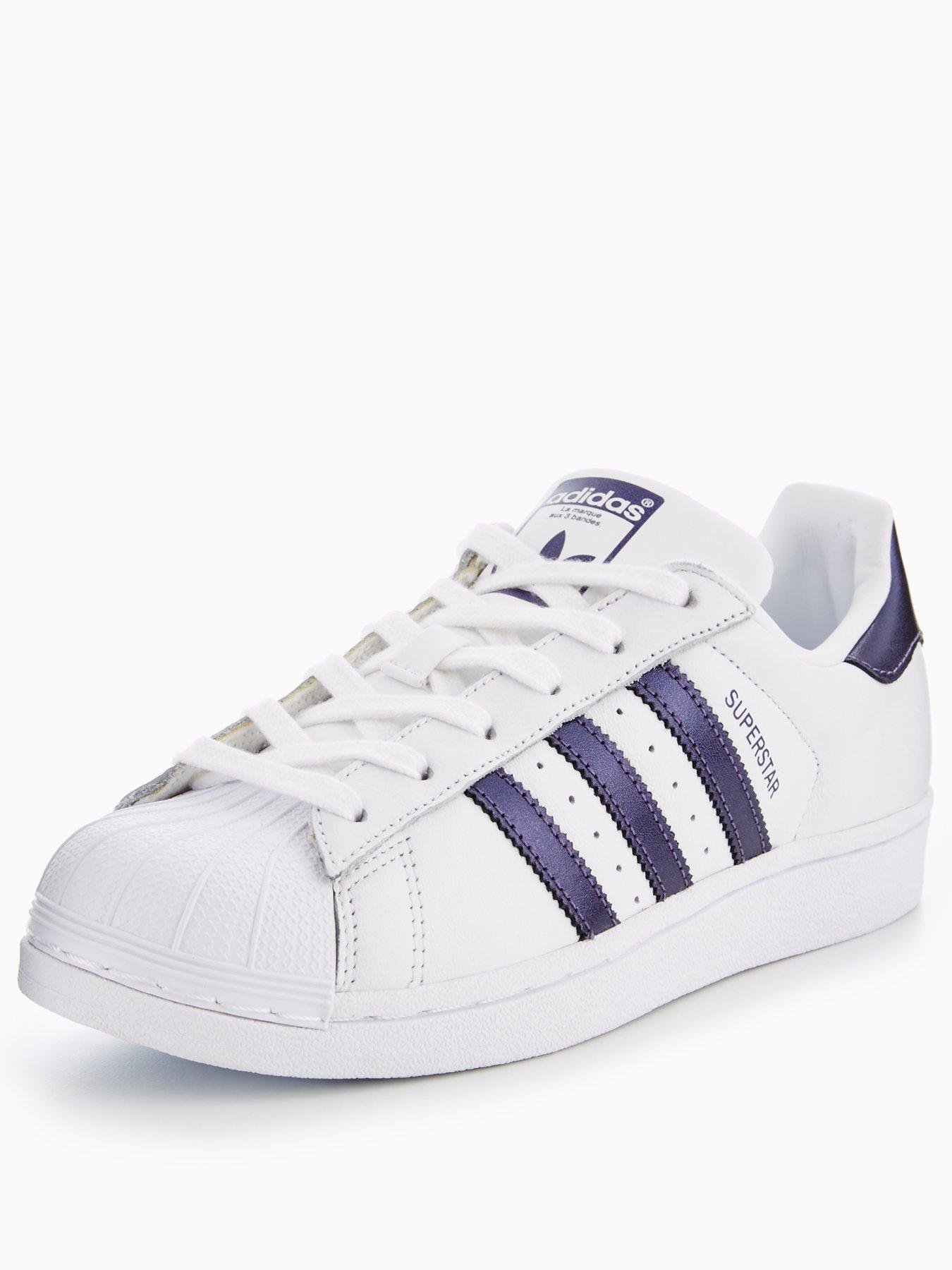 superstar adidas purple