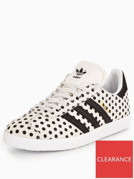 premium selection 1197b bd17e adidas Originals Gazelle - WhiteBlack