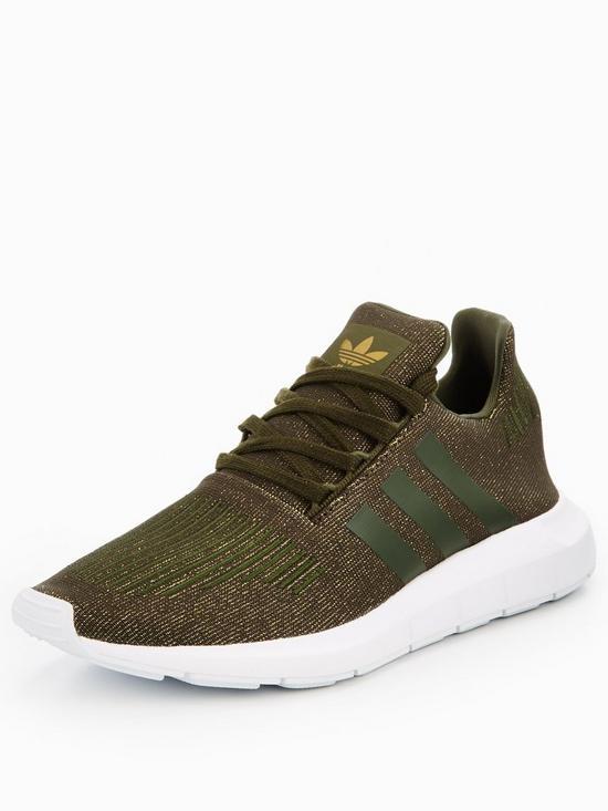 adidas Originals SWIFT RUN W Kaki k4bUAK