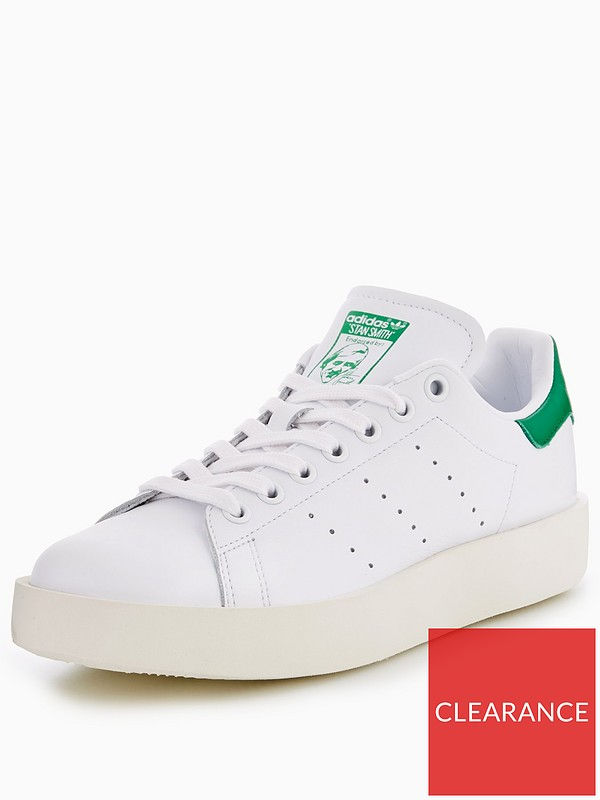 huge discount 8409f dd36d adidas Originals Stan Smith Bold - White