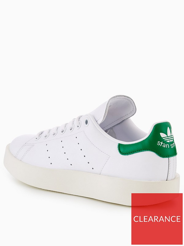 8bc79edc1fe adidas Originals Stan Smith Bold - White
