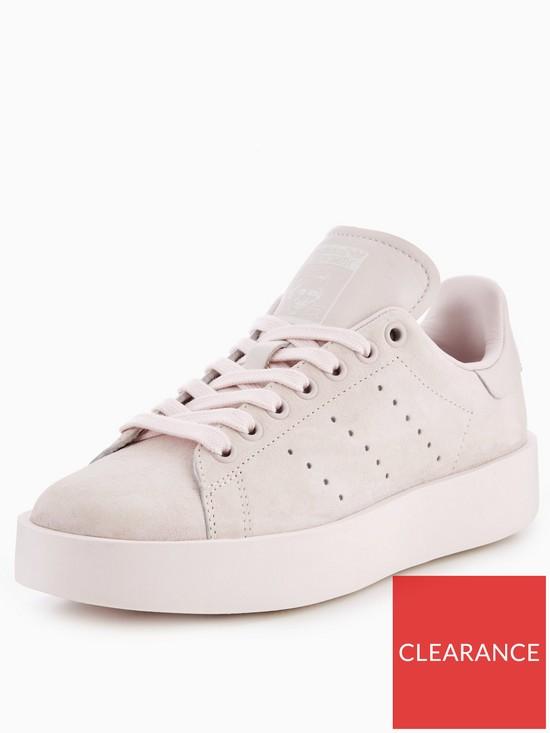lowest price 65cc5 37982 adidas Originals Stan Smith Bold - Pink   very.co.uk