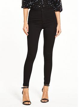 miss-selfridge-black-steffi-skinny-jean