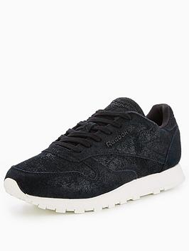 Reebok Classic Leather Shimmer - Black