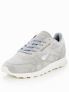 Reebok Classic Leather Shimmer - Grey