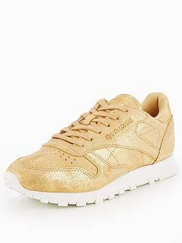 Reebok Classic Leather Shimmer - Gold