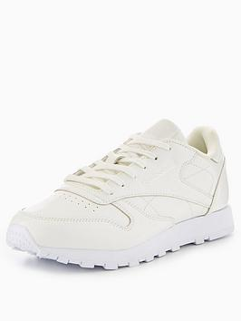 Reebok Classic Leather Patent - White