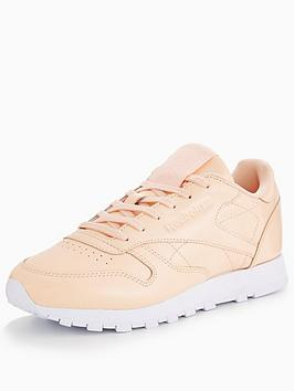 Reebok Classic Leather Patent - Pink