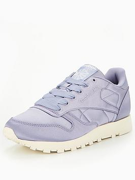 Reebok Classic Leather Satin - Purple