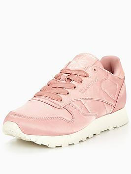 Reebok Classic Leather Satin - Pink