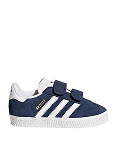 the best attitude e365f 40a66 adidas Originals Gazelle Infant Trainer - Navy