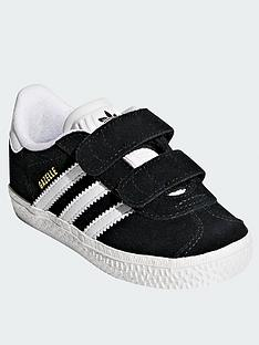 adidas Originals Gazelle Infant Trainer - Black 812698954