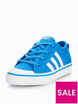 adidas-originals-nizza-childrens-trainer