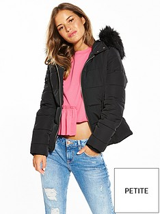 miss-selfridge-petite-paddednbspshort-fur-jacket