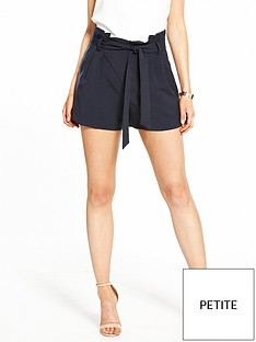 miss-selfridge-petite-paperbag-shorts