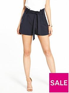 miss-selfridge-petite-paperbag-shorts