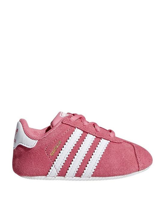 adidas Originals Gazelle Crib Trainer  5ad84d45555