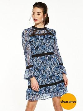 v-by-very-printed-frill-hem-dress