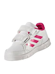 adidas-altasport-cf-infant-trainers-whitepink
