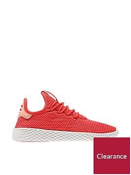 adidas-originals-pharrell-williams-tennis-junior-trainer-redwhitenbsp
