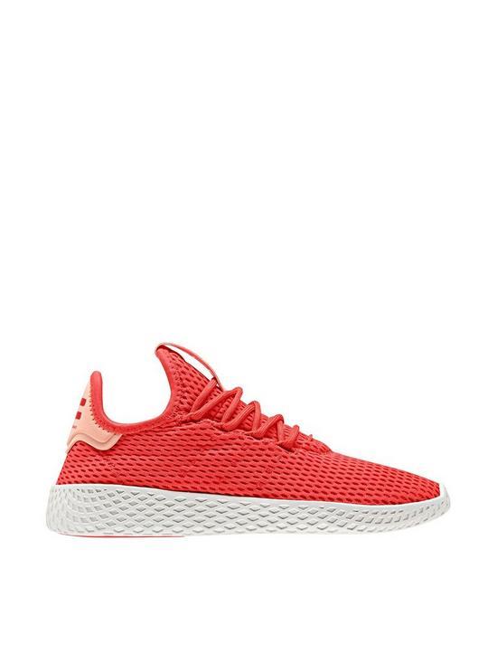 les ventes chaudes 83e5b 417bb Pharrell Williams Tennis Junior Trainer - Red/White