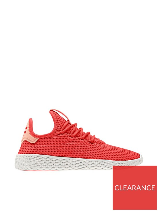e19a1b318 adidas Originals Pharrell Williams Tennis Junior Trainer - Red White ...