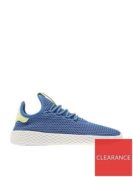 adidas-originals-pw-tennis-hu-junior-trainer-bluewhitenbsp