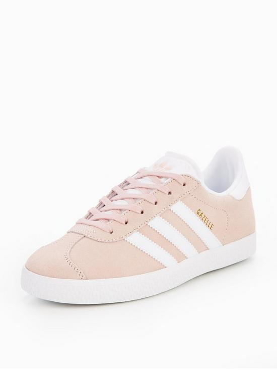 best loved 4dc09 ebba7 adidas Originals Gazelle Junior Trainer