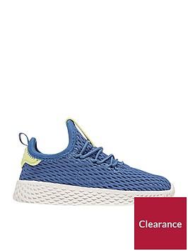 adidas-originals-pharrell-williams-tennis-hu-infant-trainer-bluewhitenbsp