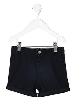 river-island-mini-boys-navy-blue-chino-shorts